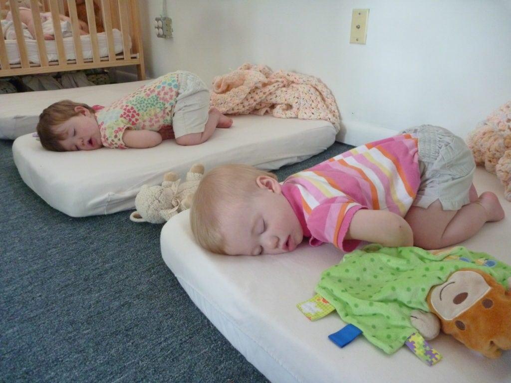Our Neighborhood Twins Sleeping