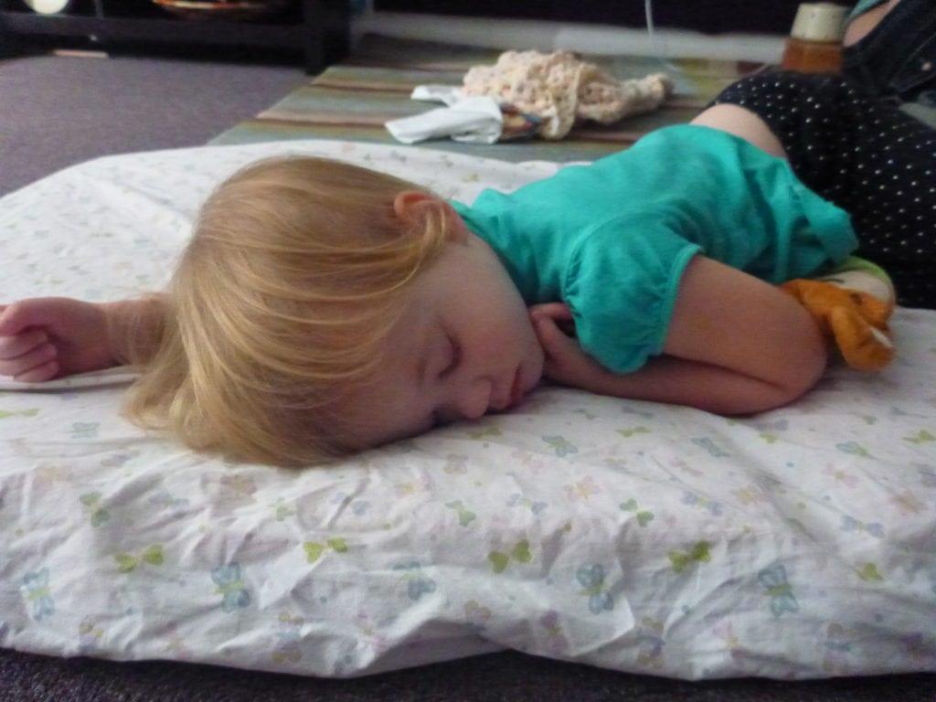 Sleepy Two Our Neighborhood beyond daycare RIE inspired