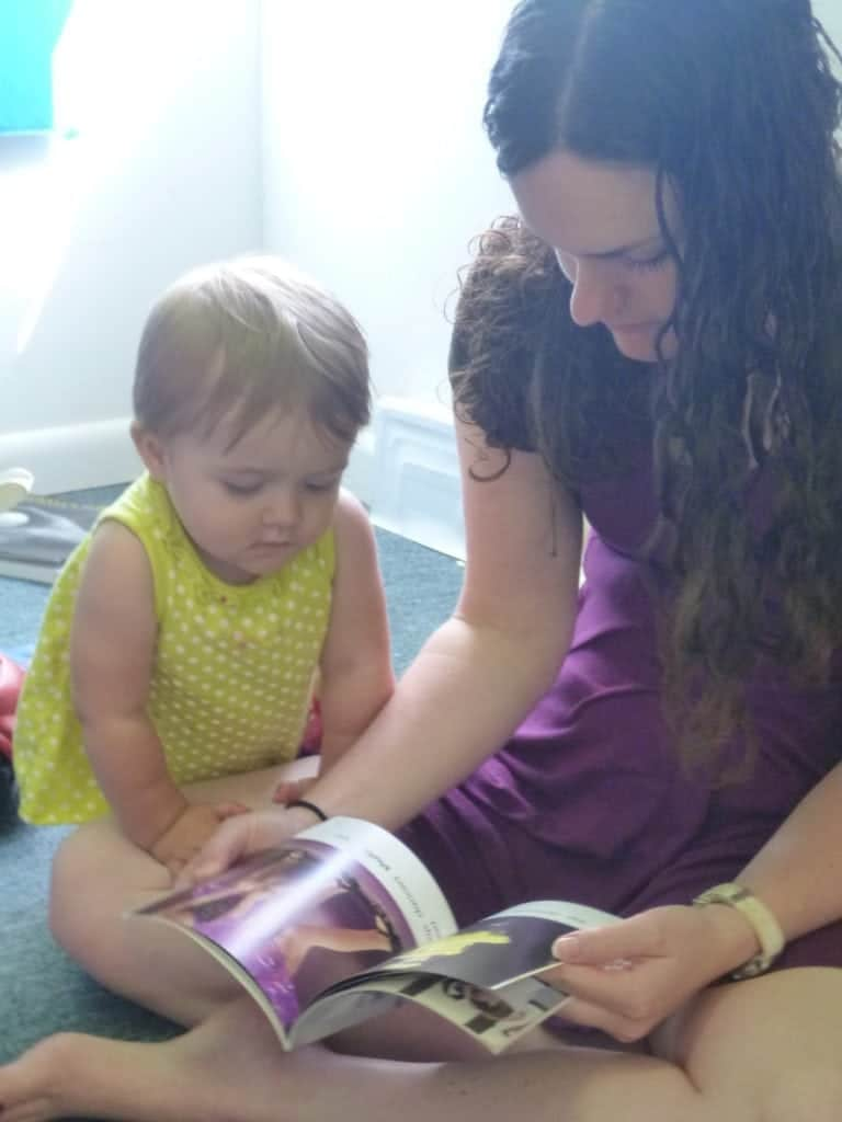 considering a nanny - teacher toddler bond building