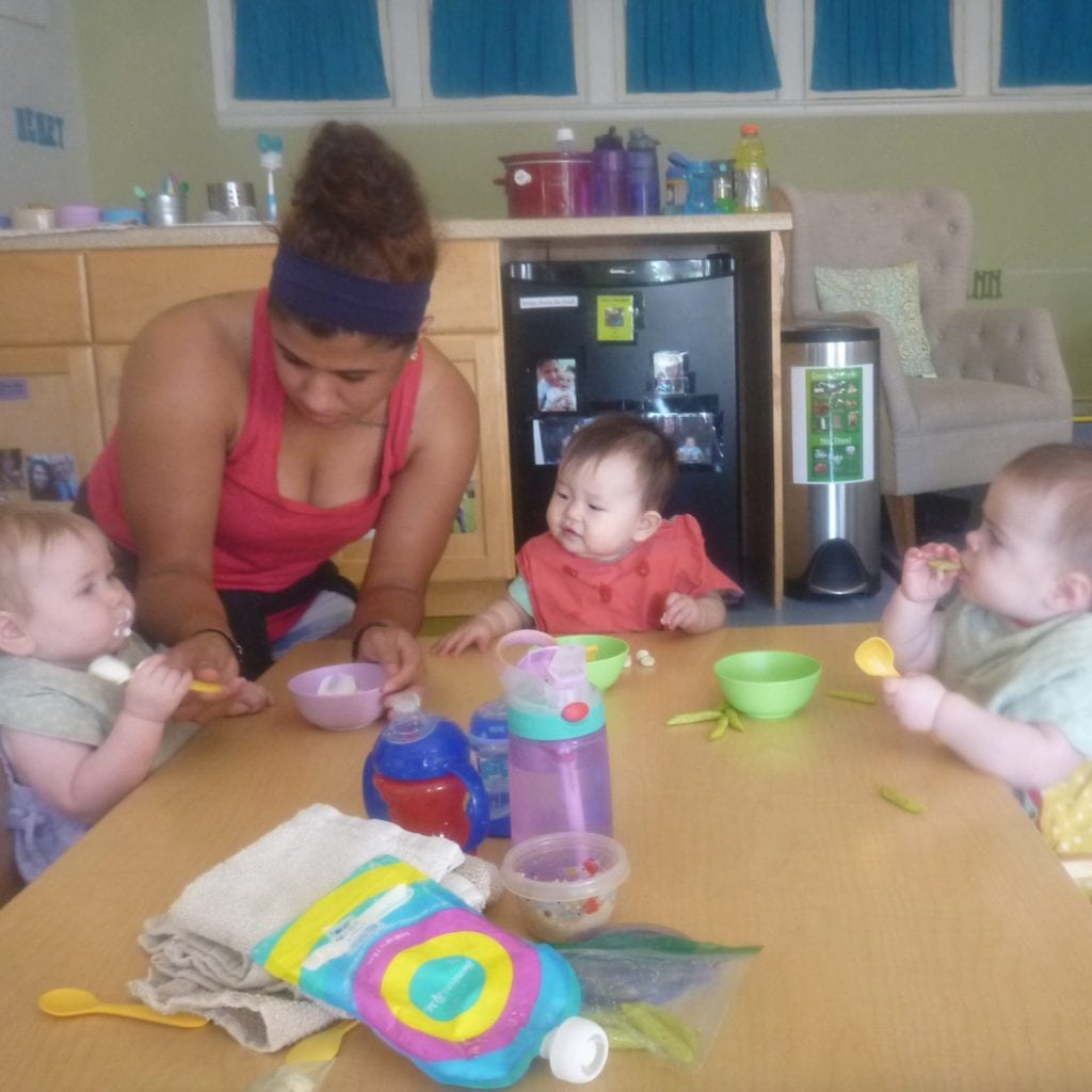establishing a family meal - Infants healthy eating table foods - square