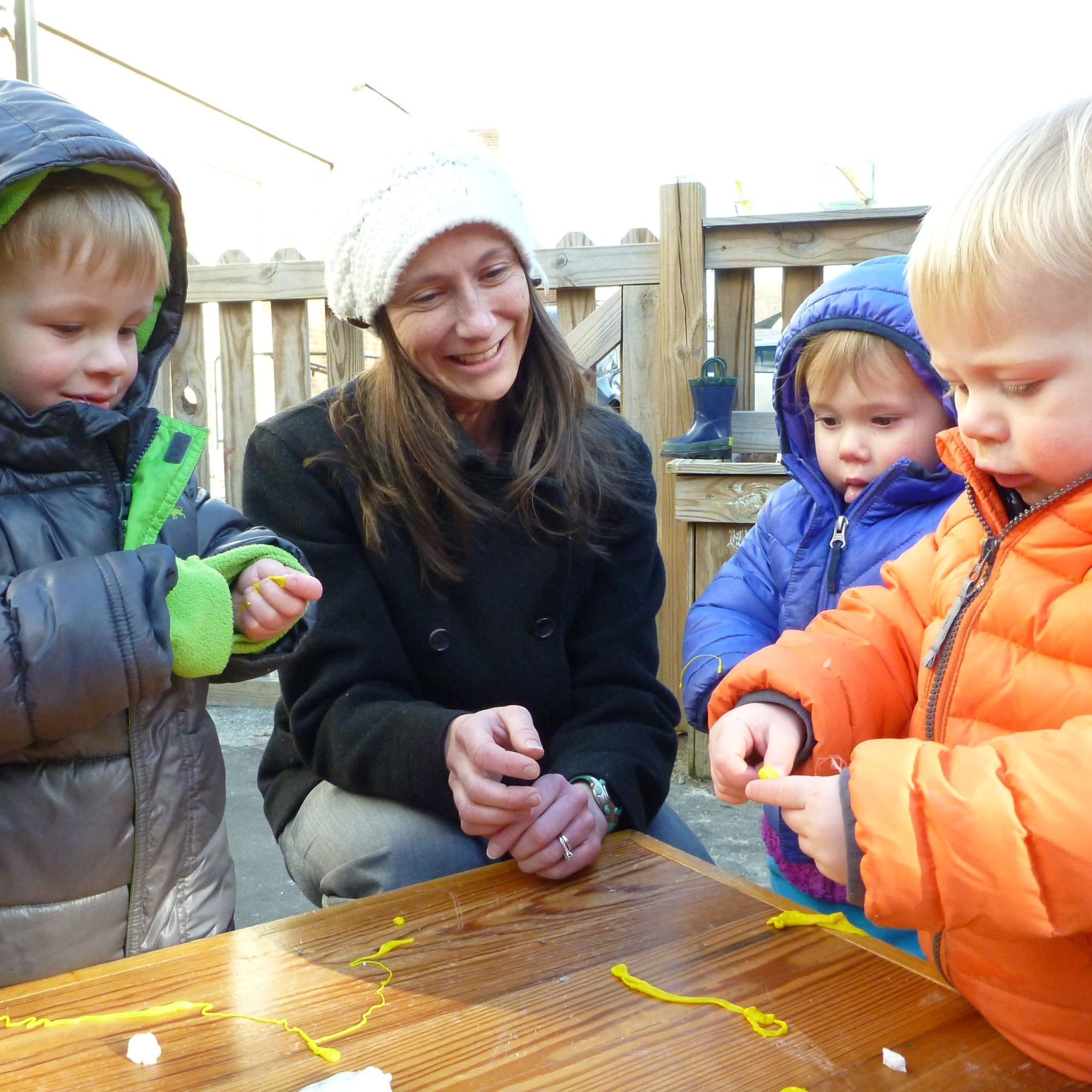 sq-child care and preschool - toddler sensory experience